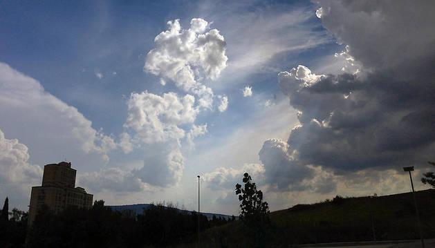 Las nubes, protagonistas de la jornada del sábado