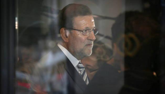 Rajoy llegó a primera hora de la tarde local a Bruselas para participar en la cumbre extraordinaria de la UE.