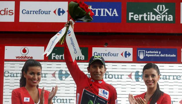 Nairo Quintana, nuevo líder de la Vuelta a España