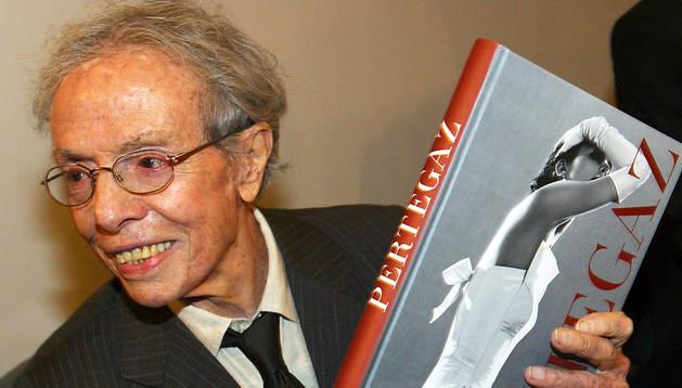 Imagen de Manuel Pertegaz en febrero de 2004