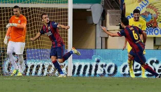 Sandro abre la muralla del Villarreal y da la victoria al Barça