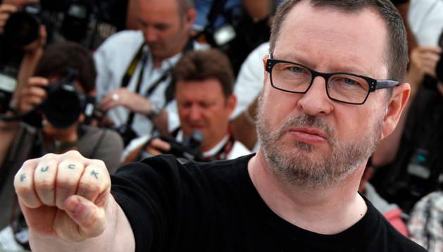Lars von Trier en el Festival de Cannes 2013.