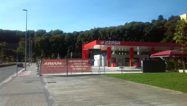 La nueva gasolinera de Trinitarios, ubicada junto al Parque de Bomberos.