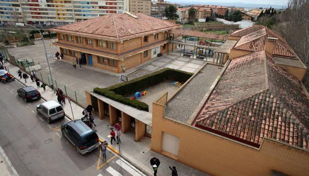 Imagen del antiguo colegio Virgen de la Cabeza, donde está previsto ubicar la nueva comisaría de la Policía Municipal.