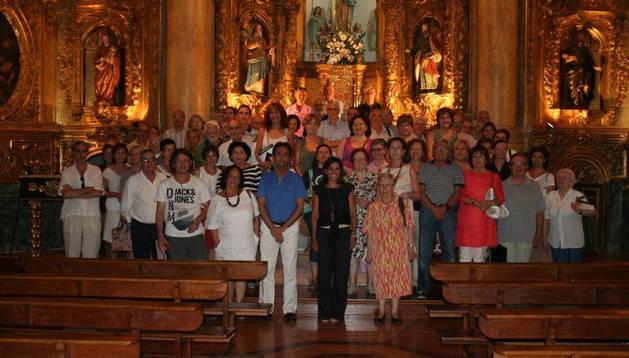 Parte de los participantes en el curso de verano.