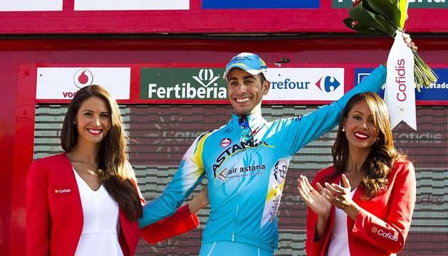 Aru se ha llevado la etapa y Contador ha conservado el liderato