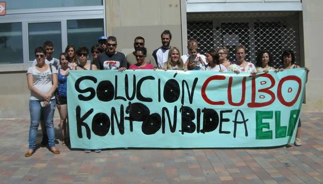 Protesta de los trabajadores de Cubo Spa Sport.