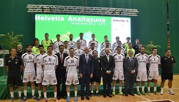 Presentación del Helvetia Anaitasuna 2014/2015
