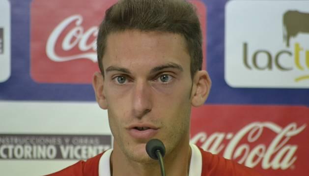 El jugador de Osasuna, Roberto Torres