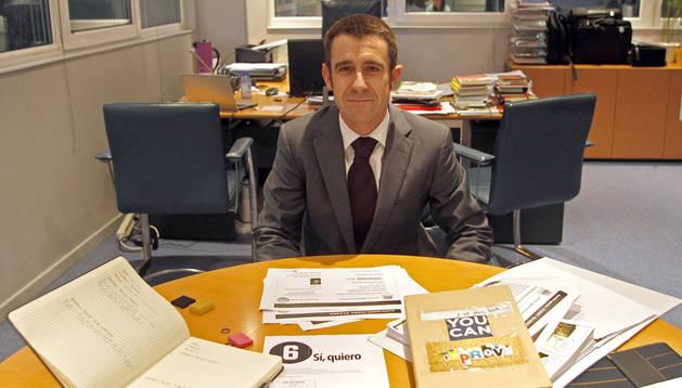 Jon Angulo, gerente de Hidro Rubber