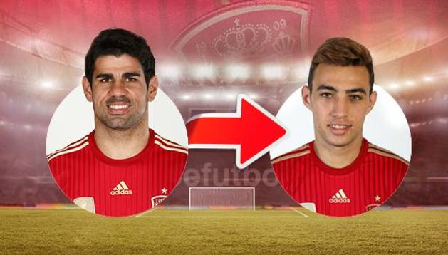 Munir sustituye a Diego Costa