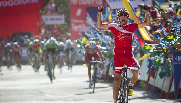 Dani Navarro, ganador en Cabárceno.