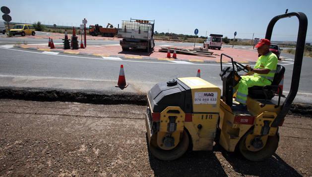 Obras en la calzada previstas en la Ronda Norte y en el acceso a Landaben.