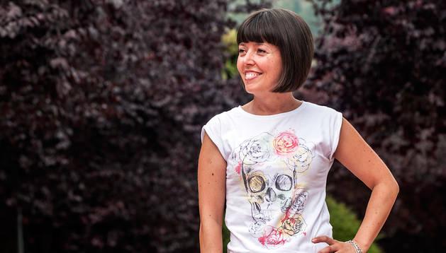 Blanca Esther Villanueva es presidenta de la Asociación de Esclerosis Múltiple de Navarra