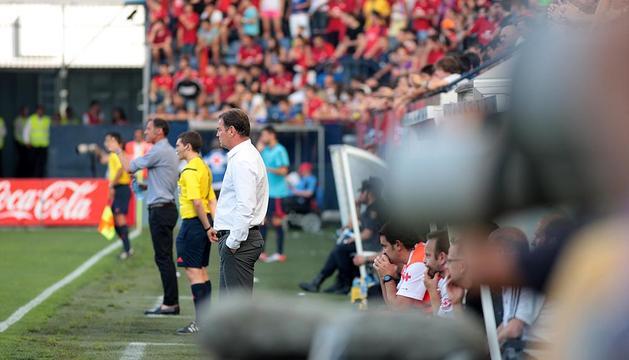 Jan Urban, en el partido de este sábado contra el Alavés