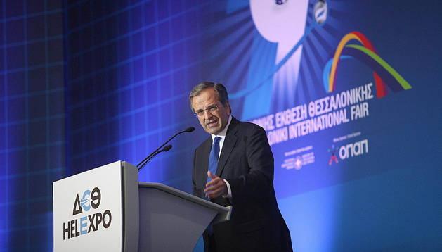 El primer ministro de Grecia, Andonis Samarás.