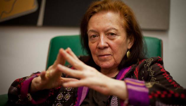 Imagen del 18 de noviembre de 2011 de la artista colombiana Ana Mercedes Hoyos