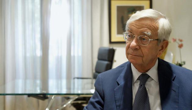 El presidente de la Real Academia de Gastronomía española, Rafael Ansón.