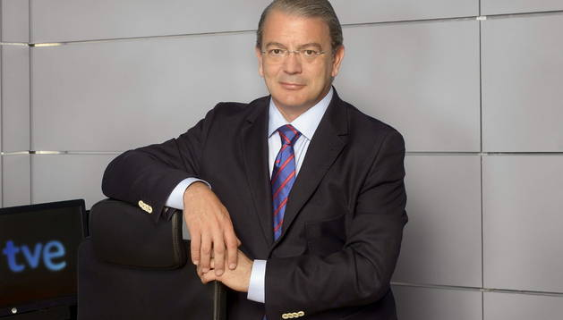José Ramón Díez lleva dos meses en su nueva tarea: dirigir Televisión Española (TVE).
