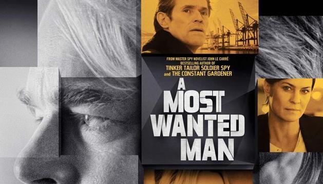 Cartel de 'El hombre más buscado', protagonizada por Philip Seymour Hoffman.