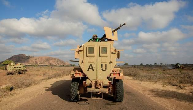 Militares de la Unión Africana en Somalia