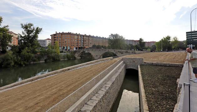 Los trabajos sirvieron para recuperar un antiguo canal.