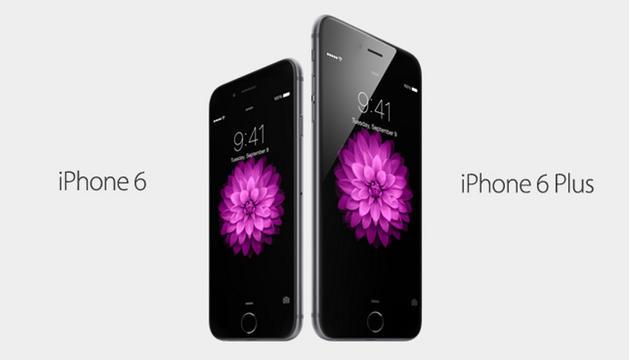Los nuevos iPhone 6