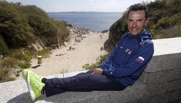 'Purito' Rodríguez, durante el segundo día de descanso de la Vuelta