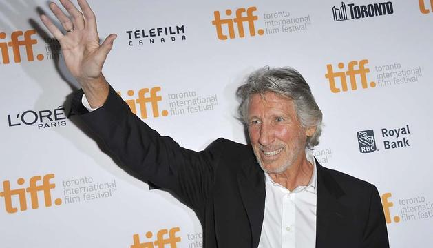 Roger Waters, en la presentación en Toronto de 'Roger Waters: The wall'.