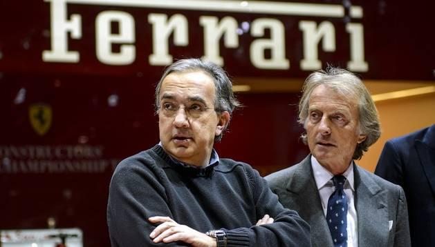 Sergio Machionne, junto a Montezemolo