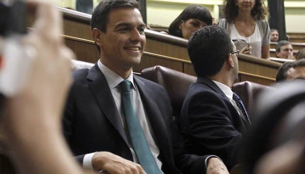 Pedro Sánchez se ha estrenado este martes en la sesión de control al Gobierno