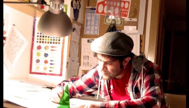 El dibujante 'Belatz'.