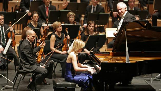 Antoni Wit, con la Orquesta Sinfónica de Navarra