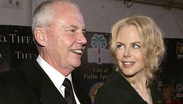 Nicole Kidman y su padre