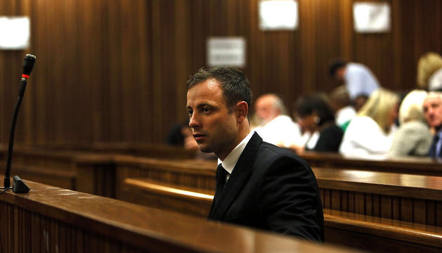 El atleta sudafricano Oscar Pistorius.