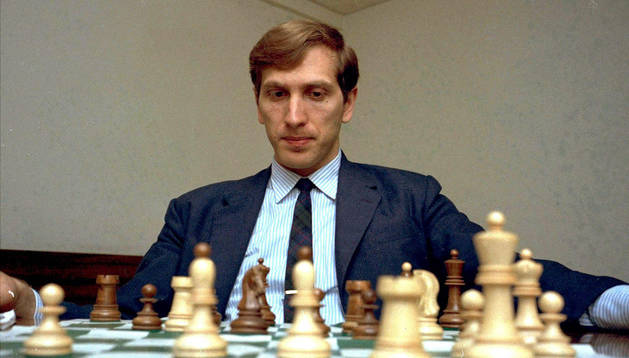 Bobby Fischer, en 1971.