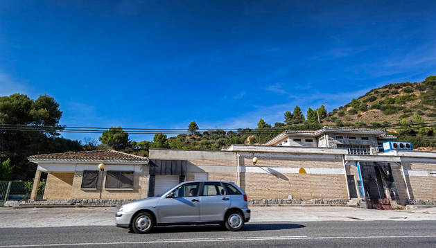 Las instalaciones del matadero municipal de Estella en la Avenida de Pamplona