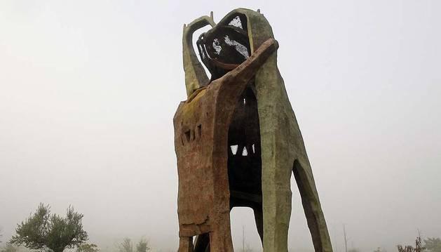 Escultura de José Ulibarrena.