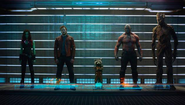 Los 'Guardianes de la galaxia'.