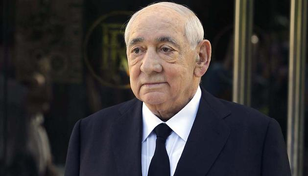 Isidoro Álvarez, el pasado mes de agosto.