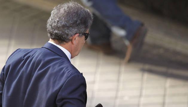 Jordi Pujol Ferrusola, llegando a declarar a la Audiencia