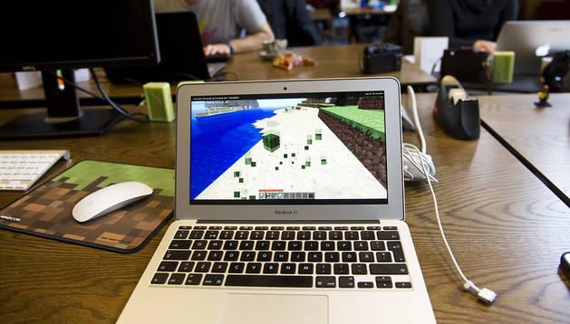 Empleados de Minecraft trabajan en la empresa en Estocolmo
