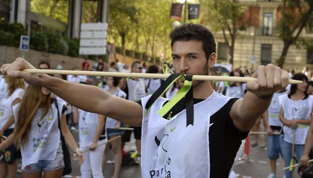 Concentración en Madrid contra el Toro de la Vega