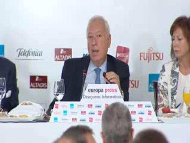 Declaraciones del ministro José Manuel García Margallo