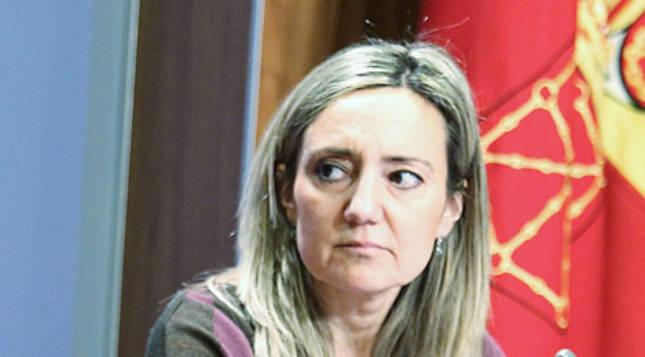 La consejera Marta Vera y Cristina Ibarrola en una comparecencia conjunta