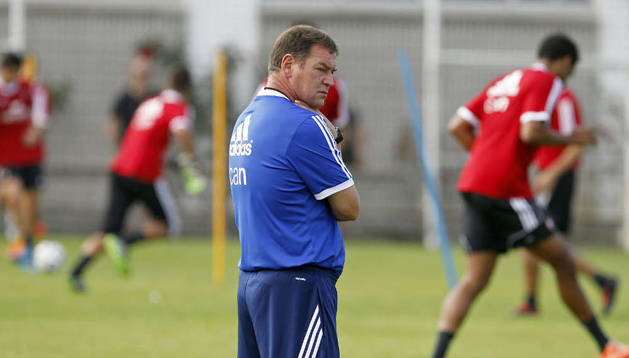El técnico de Osasuna, Jan Urban