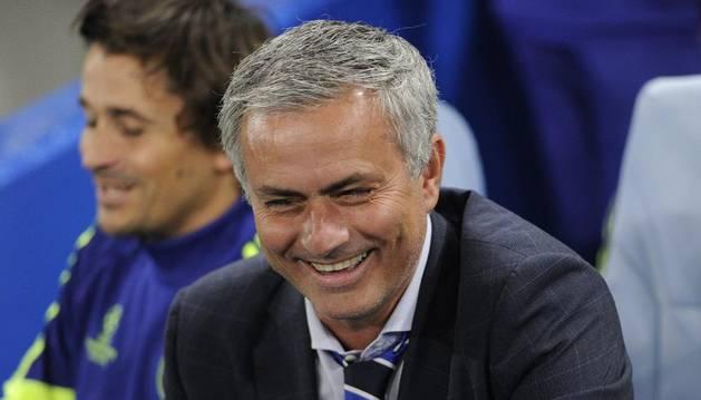 El entrenador del Chelsea, Jose Mourinho