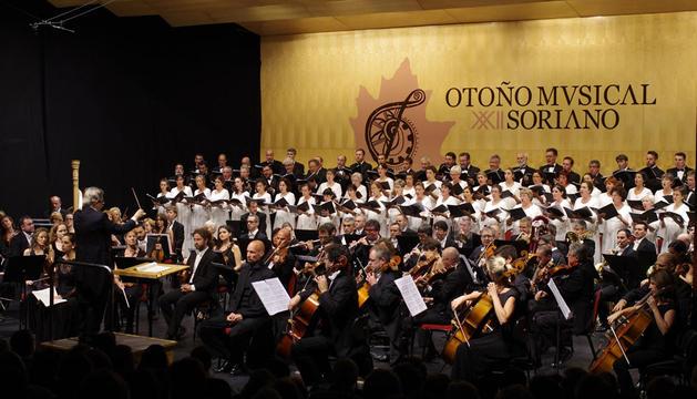 Concierto del Orfeón Pamplonés en Soria
