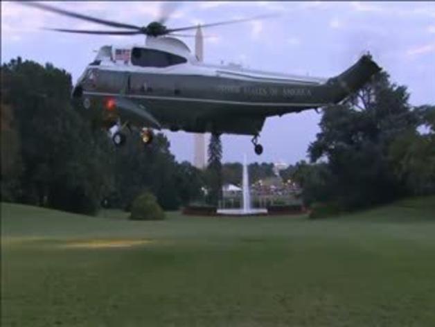 Un intruso obliga a desalojar la Casa Blanca