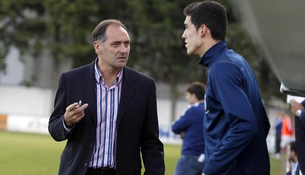 El entrenador, Javier Merino